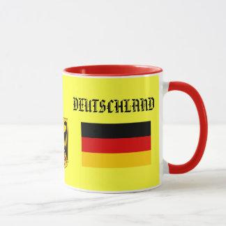 Bandera de GERMANY*/de DEUTSCHLAND y taza del
