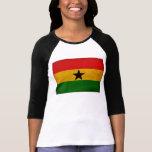 Bandera de Ghana Camiseta