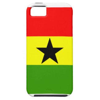Bandera de Ghana Funda Para iPhone 5 Tough