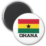 Bandera de Ghana Imán De Frigorifico
