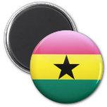 Bandera de Ghana Imán Para Frigorífico