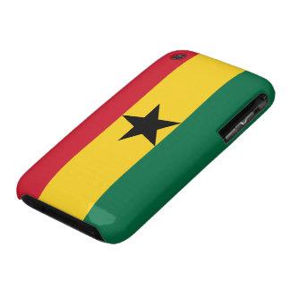 Bandera de Ghana iPhone 3 Case-Mate Fundas