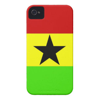 Bandera de Ghana iPhone 4 Case-Mate Protectores