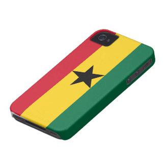 Bandera de Ghana iPhone 4 Protectores