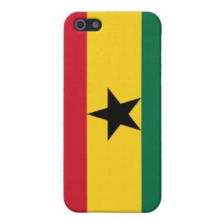 Bandera de Ghana iPhone 5 Carcasas