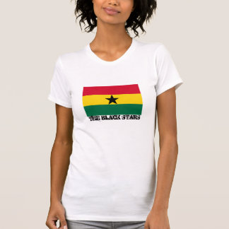 """Bandera de Ghana """"que el negro protagoniza """" Camiseta"""