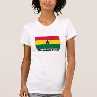"""Bandera de Ghana """"que el negro protagoniza """" Polera"""