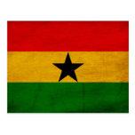 Bandera de Ghana Tarjetas Postales