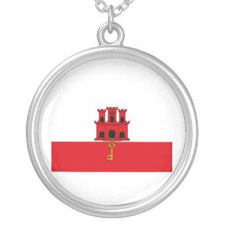Bandera de Gibraltar Colgante Redondo