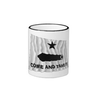 Bandera de Gonzales Tazas De Café