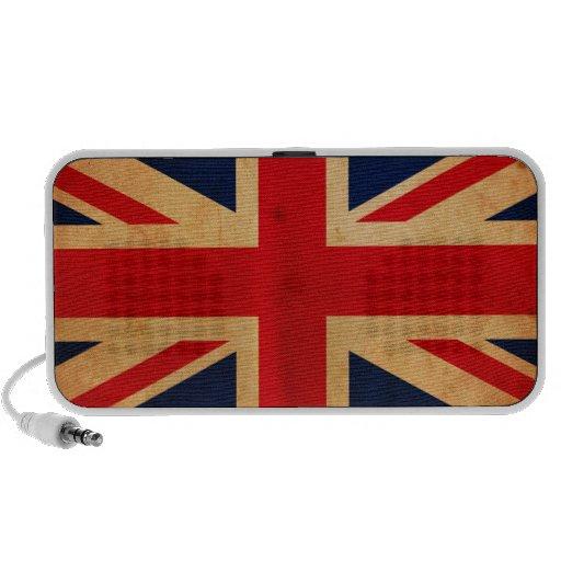Bandera de Gran Bretaña Altavoz