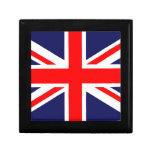 Bandera de Gran Bretaña Caja De Recuerdo