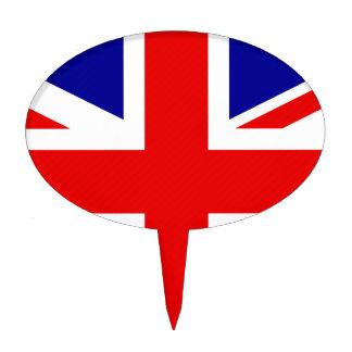 Bandera de Gran Bretaña Figuras De Tarta