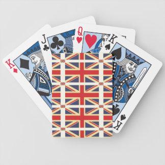 Bandera de Gran Bretaña - naipes