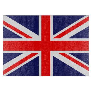 Bandera de Gran Bretaña Tabla Para Cortar