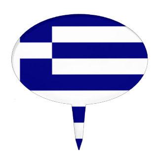 Bandera de Grecia Decoraciones De Tartas