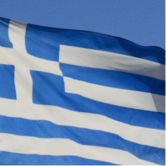 Bandera de Grecia Esculturas Fotograficas