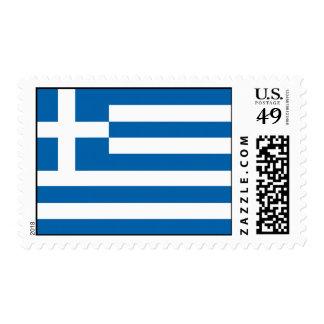 Bandera de Grecia Estampillas