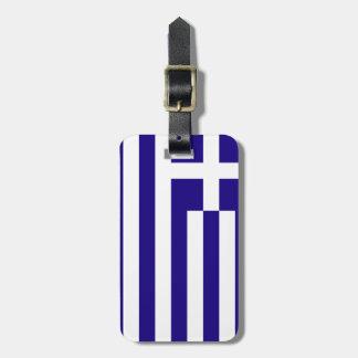 Bandera de Grecia Etiquetas De Maletas