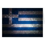 Bandera de Grecia Felicitación