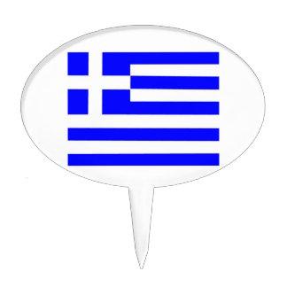 Bandera de Grecia Figura Para Tarta