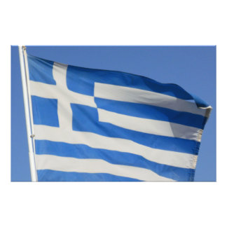 Bandera de Grecia Fotografías