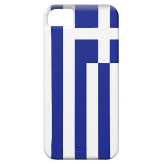 Bandera de Grecia iPhone 5 Cárcasas