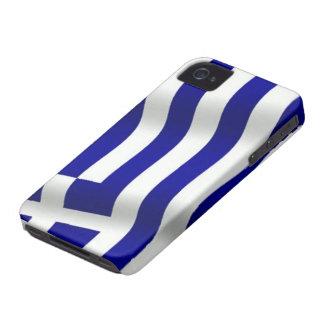 Bandera de Grecia iPhone 4 Case-Mate Cobertura