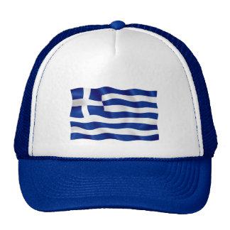Bandera de Grecia - gorra azul del camionero