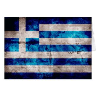 Bandera de Grecia; Griego Felicitacion