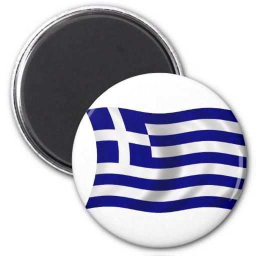 Bandera de Grecia Imán De Frigorífico