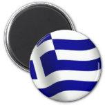 Bandera de Grecia Imanes De Nevera