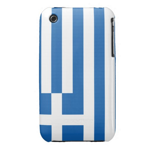 Bandera de Grecia iPhone 3 Protector