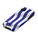 Bandera de Grecia iPhone 4 Carcasas