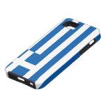 Bandera de Grecia iPhone 5 Carcasas