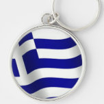 Bandera de Grecia Llaveros Personalizados