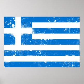 Bandera de Grecia Impresiones