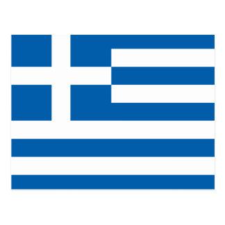 Bandera de Grecia Postal