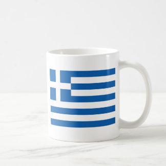 Bandera de Grecia Taza De Café