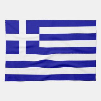 Bandera de Grecia Toalla De Mano