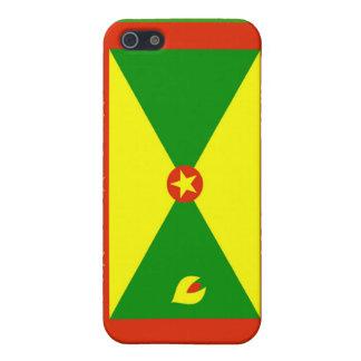 Bandera de Grenada iPhone 5 Cobertura