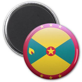 Bandera de Grenada Imán De Frigorifico