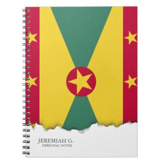 Bandera de Grenada Libros De Apuntes