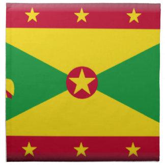 Bandera de Grenada Servilletas Imprimidas