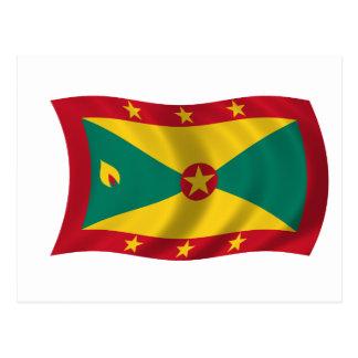 Bandera de Grenada Tarjetas Postales