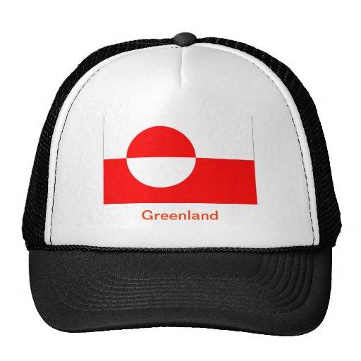 Bandera de Groenlandia Gorra