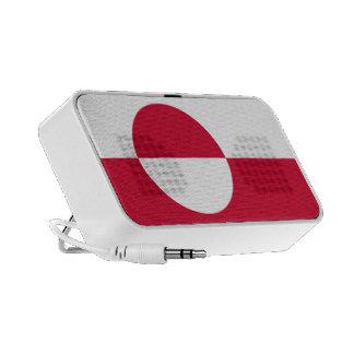 Bandera de Groenlandia PC Altavoces