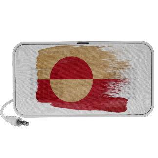 Bandera de Groenlandia Mini Altavoz
