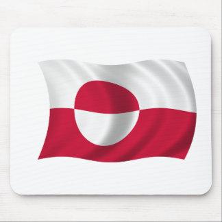 Bandera de Groenlandia Alfombrilla De Raton