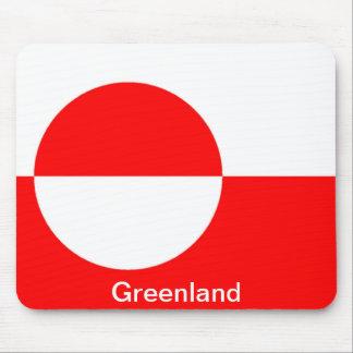 Bandera de Groenlandia Alfombrilla De Ratón